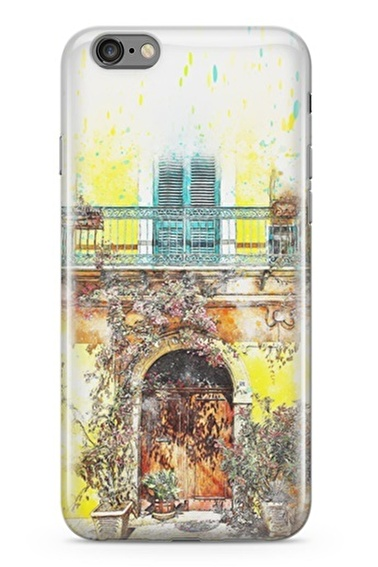 Lopard Apple İphone 6 6S Kılıf Güzel Balkonum Kapak Renkli